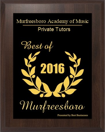 Murfreesboro Academy of Music wins 2016 Small Business Excellence Award